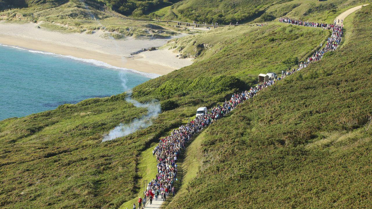 En Malpica, como cada año, Santo Hadrián congregó a cientos de personas que peregrinaron hasta su ermita