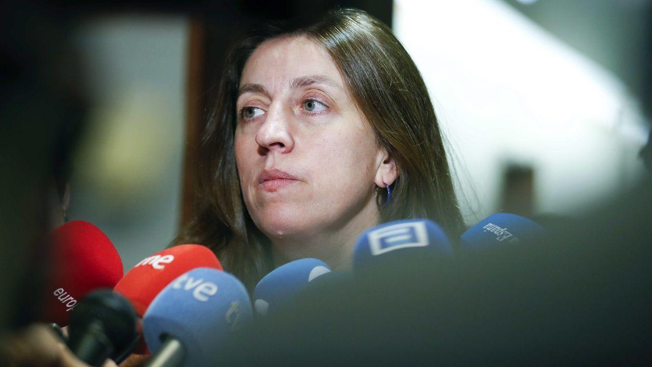 La portavoz de Podemos en la Junta General del Principado, Lorena Gil