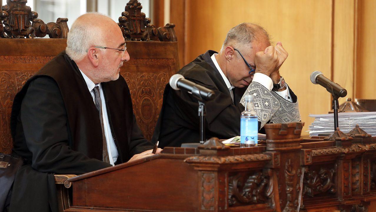 El fiscal no ha podido contener las lágrimas durante su intervención en el juicio cuando se leía la sentencia.