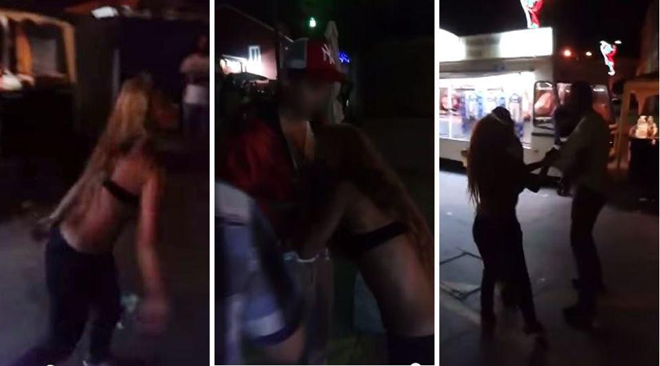 La joven que fue hospitalizada en Muxía después de atacar a mordiscos a varias personas