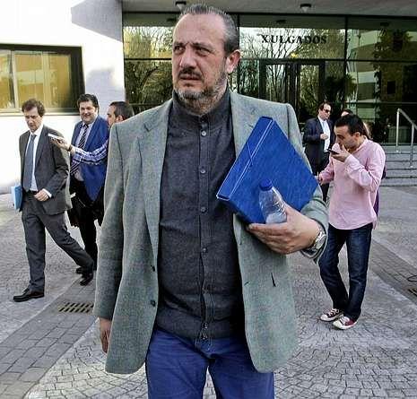 Dorribo en los juzgados de Lugo a finales de 2012.