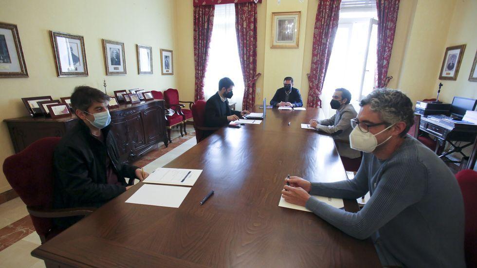 El alcalde presidió la junta de portavoces en la que se abordó la futura negociación de los presupuestos