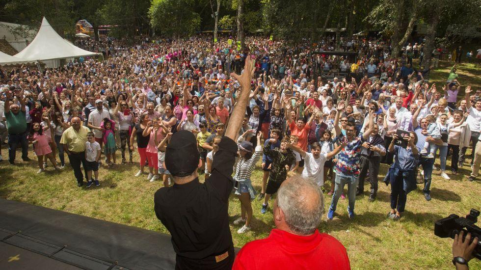Primeiras horas de Carballeira en Zas: ¡chegan as mellores imaxes!.El día después a la Carballeira 2019