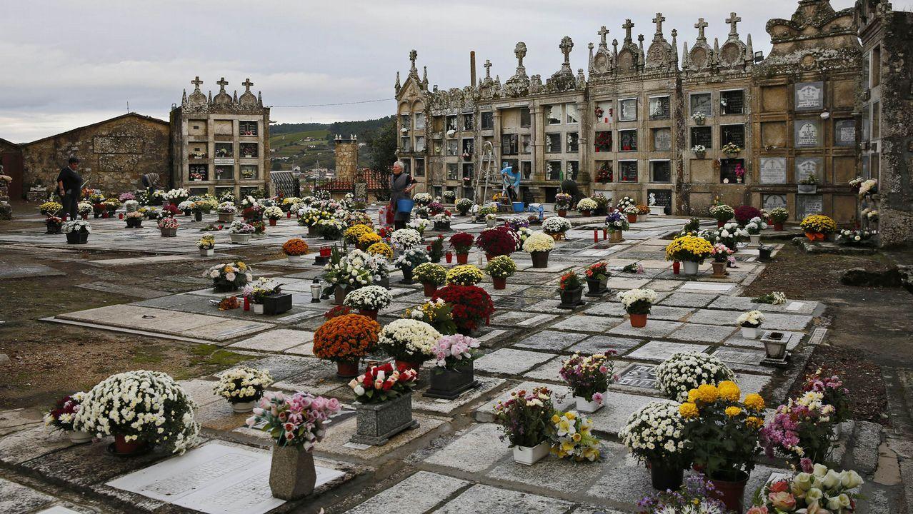 Cementerios singulares de Ourense..Camposanto de Castrelo de Miño.