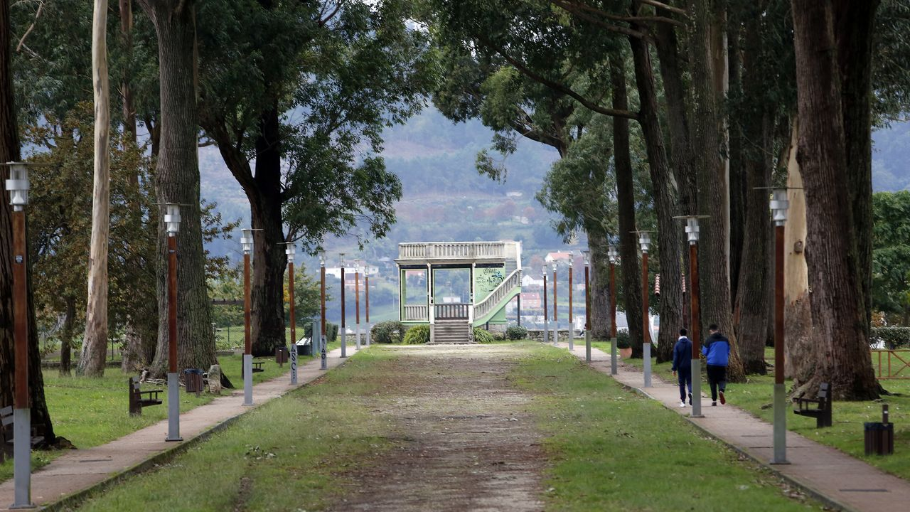 El Parque del Mirador se recorre en poco más de 390 pasos, según el «Pasominuto»
