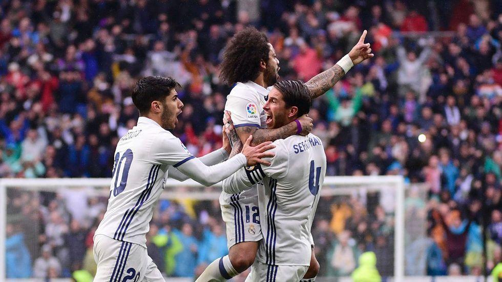 El Real Madrid y el Atlético, frente a frente