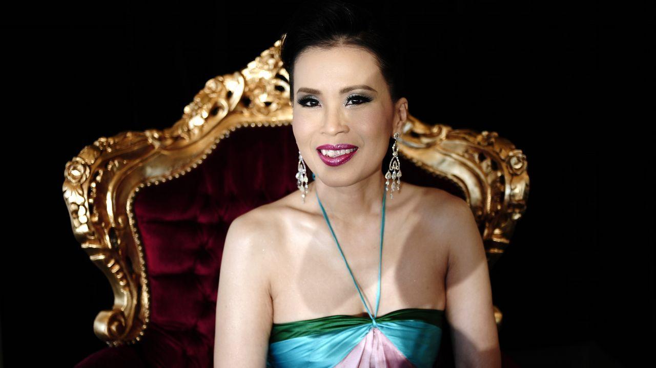 Imagen de archivo de la princesa Ubolratana, tomada en mayo del 2008
