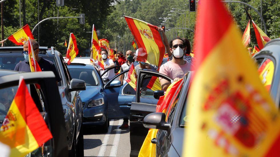 La manifestación contra el Gobierno en Madrid organizada por Vox cita a miles de personas.Grande Marlaska, durante el pleno de sesión de control al Gobierno del miércoles