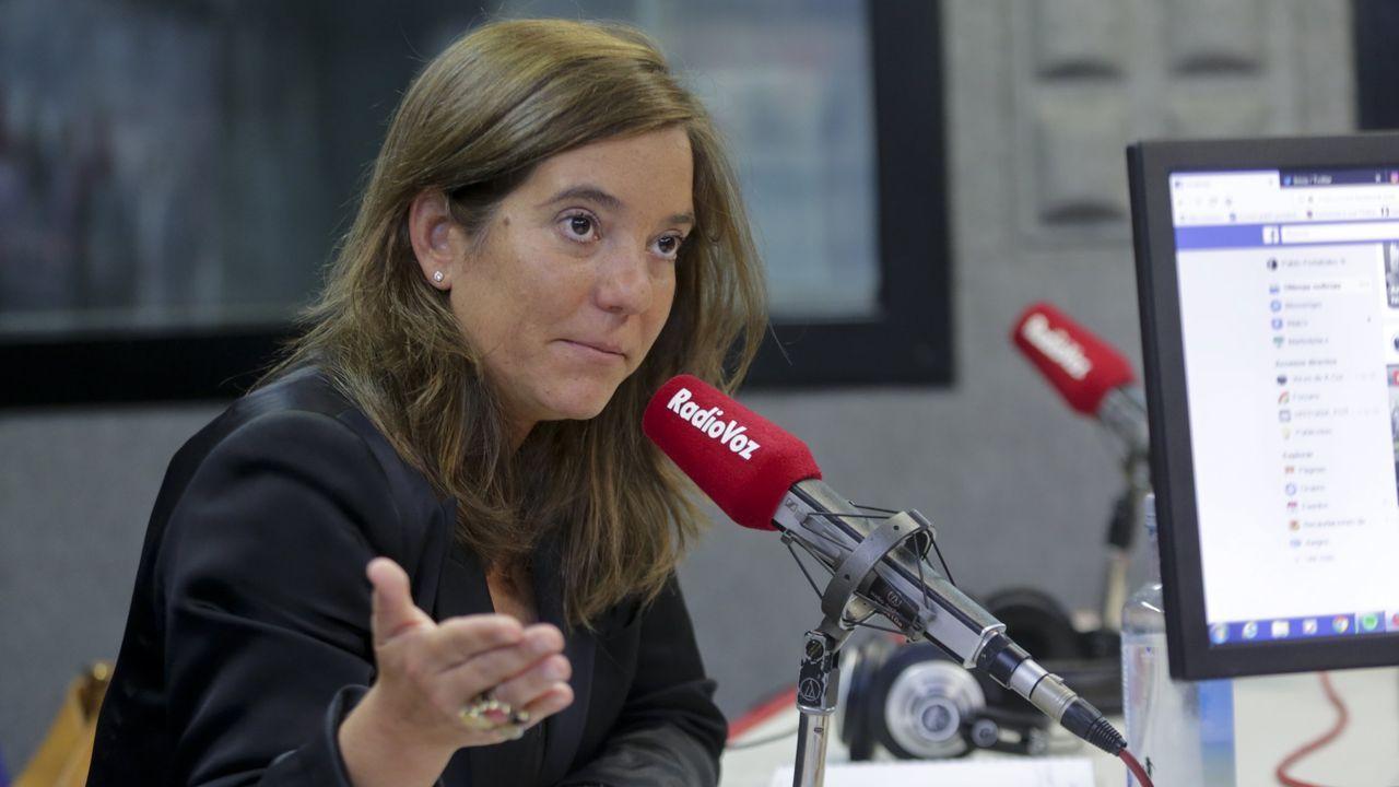 Los locales de El Huerto.LA ALCALDESA INES REY EN EL PROGRAMA DE RADIO VOZ CITA EN MARIA PITA