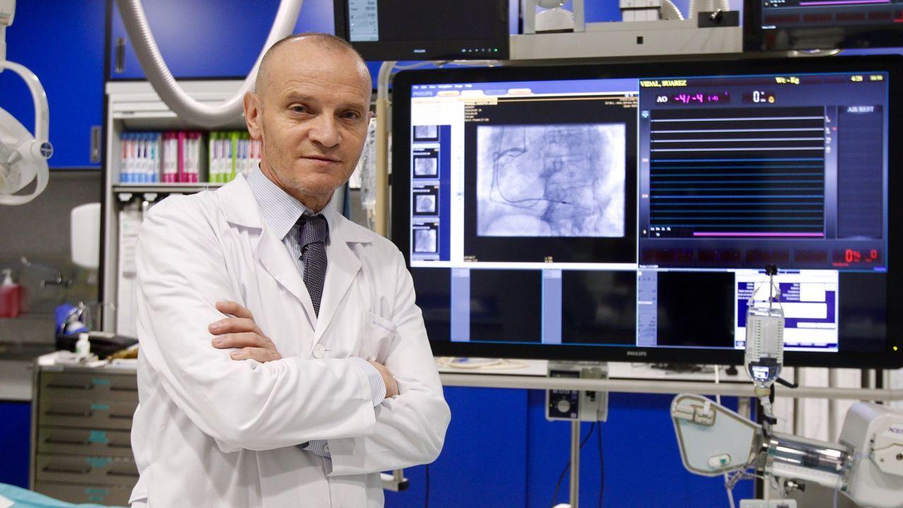 González Juanatey, cardiólogo del CHUS