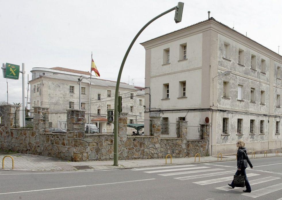 El cuartel ferrolano está ubicado en las inmediaciones de la puerta de Neira.