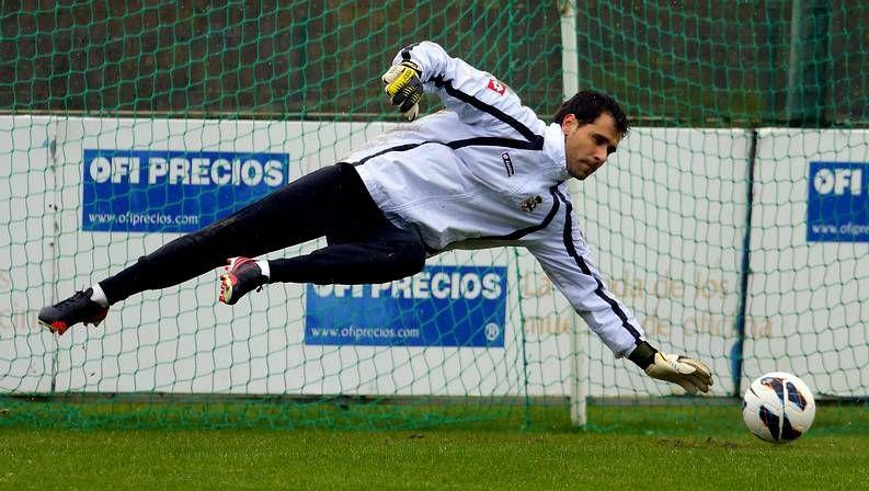 Vázquez, con André Santos el pasado martes