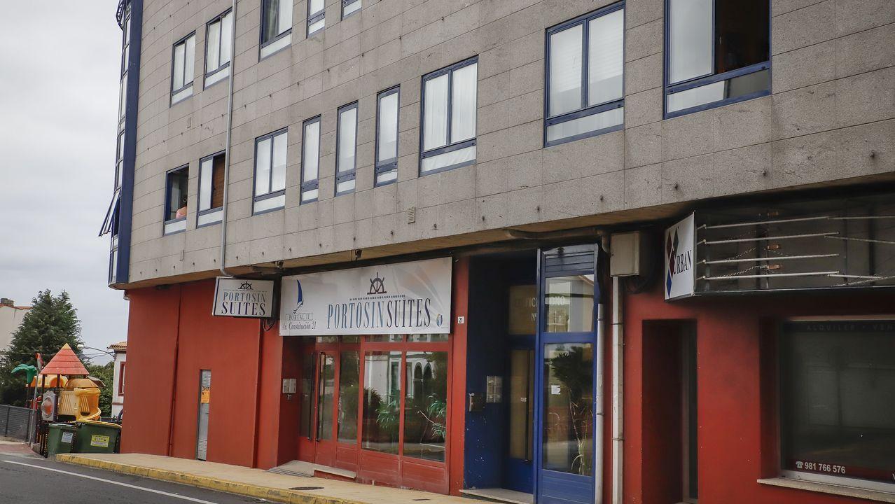 Entrada de Urgencias del Hospital de Santiago