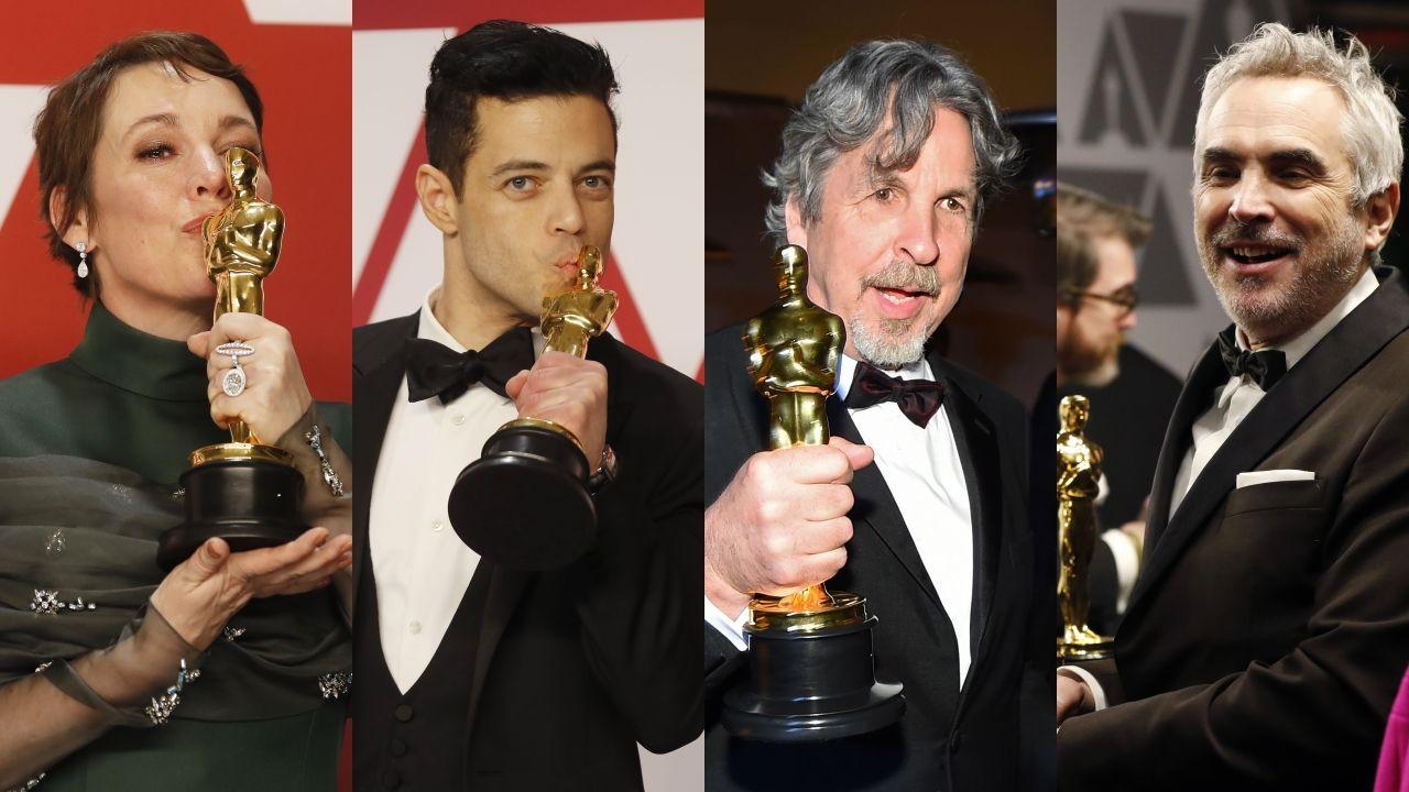 Todas las fotos de lagala de los Óscar 2019.Cartel de Mago de Oz