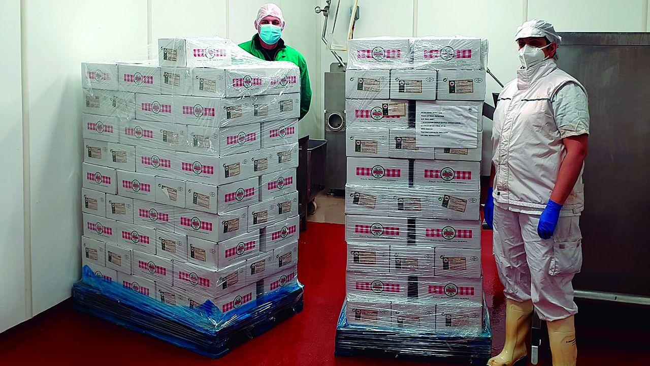 Donación de El Cuco para World Central Kitchen, la ONG del chef asturiano José Andrés