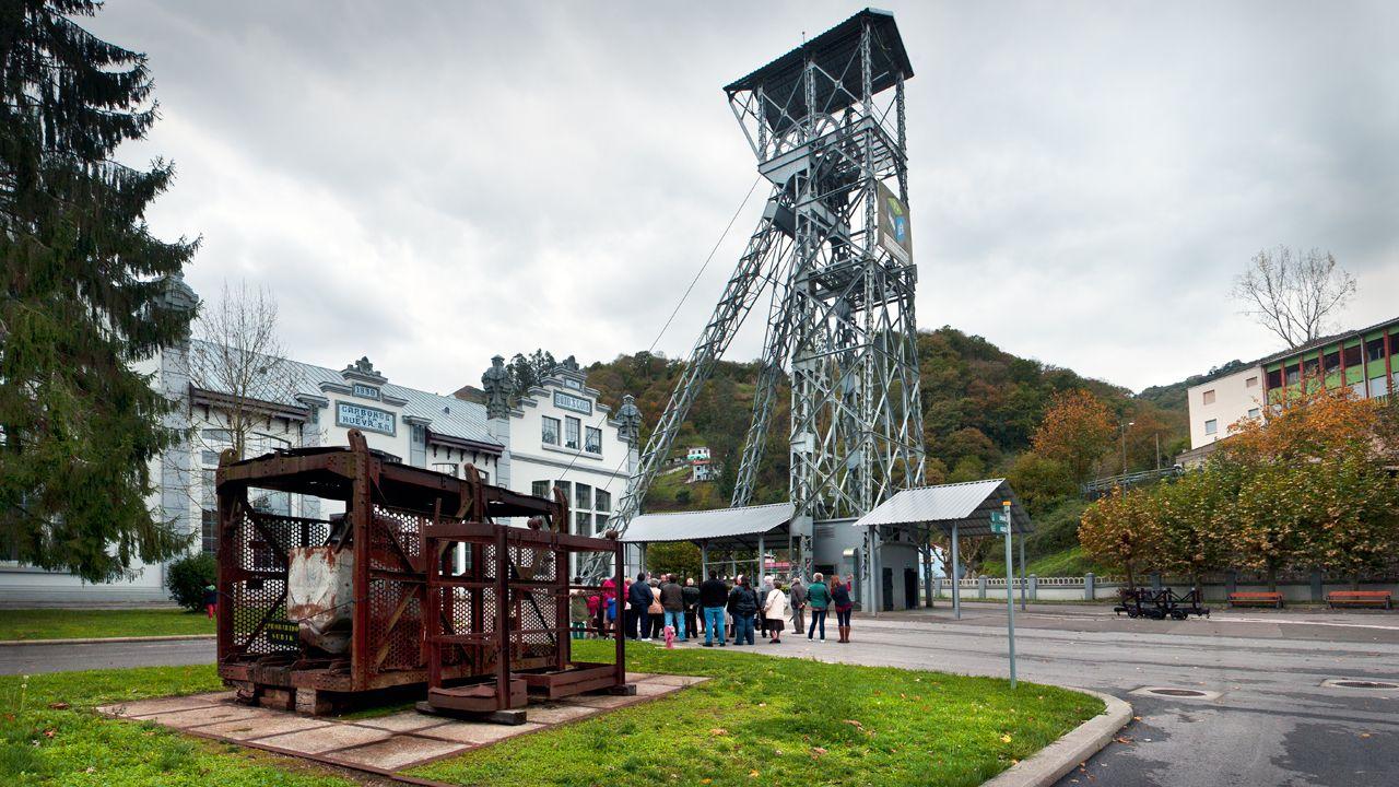 Ecomuseo Minero Valle de Samuño.Castillete