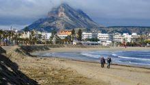 La playa de Jávea, en una foto de archivo