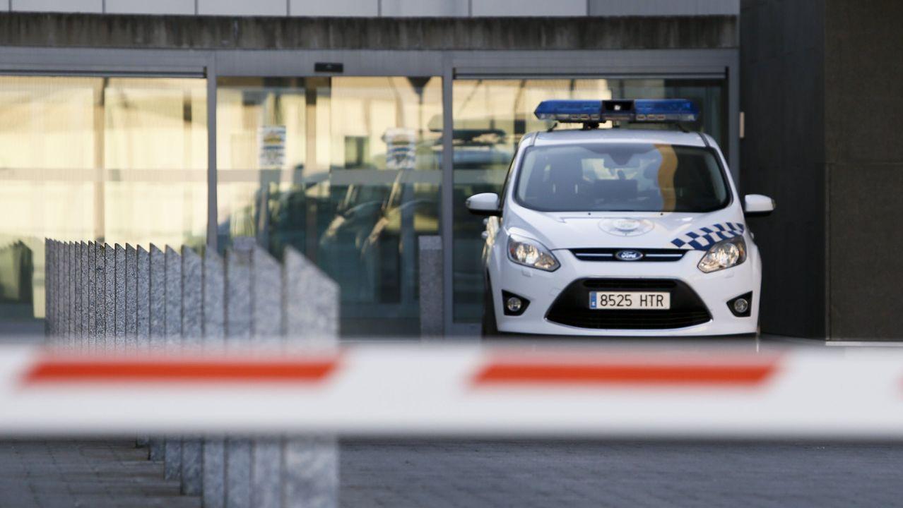 Comienzan los primeros cortes en la N-VI por las obras del Sol y Mar.La Policía Local de Lugo intensificó los controles de cumplimiento de las medidas anti-covid
