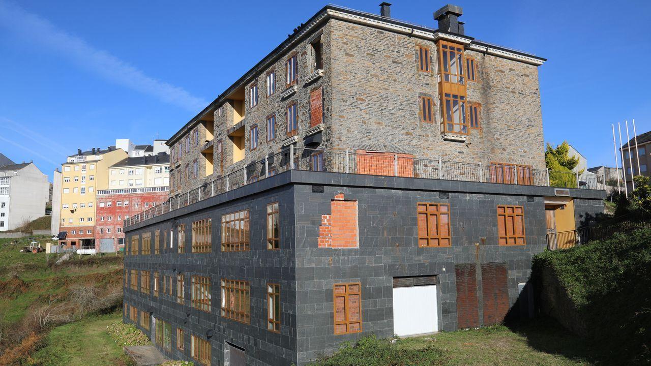 El hotel Fonte Sacra de A Fonsagrada se vende por más de un millón de euros