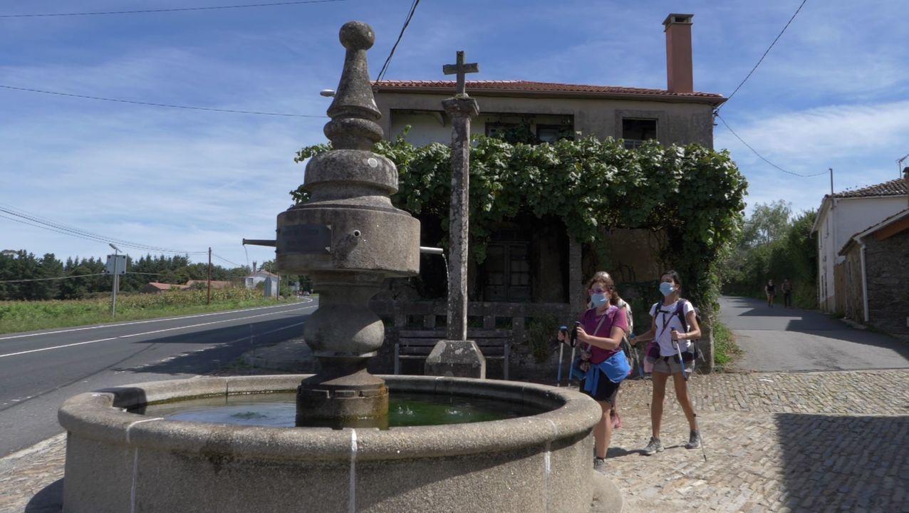 A empresa compostelá Xurdir elaborou un documental sobre as fontes do Camiño Francés