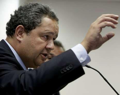 Tino Fernández, en una reciente rueda de prensa celebrada en las instalaciones blanquiazules.