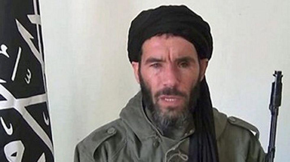 El yihadista argelino Mojtar Belmojtar, en una imagen de archivo