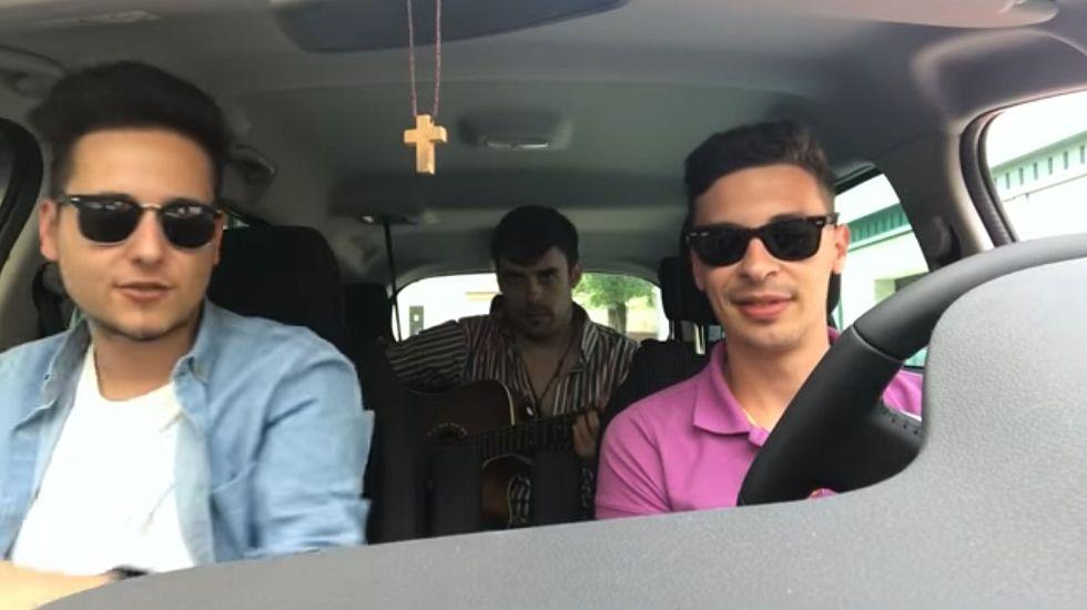«Resucito» Luisto & Llandres.Imagen promocional del «Tesla Sinfónico»