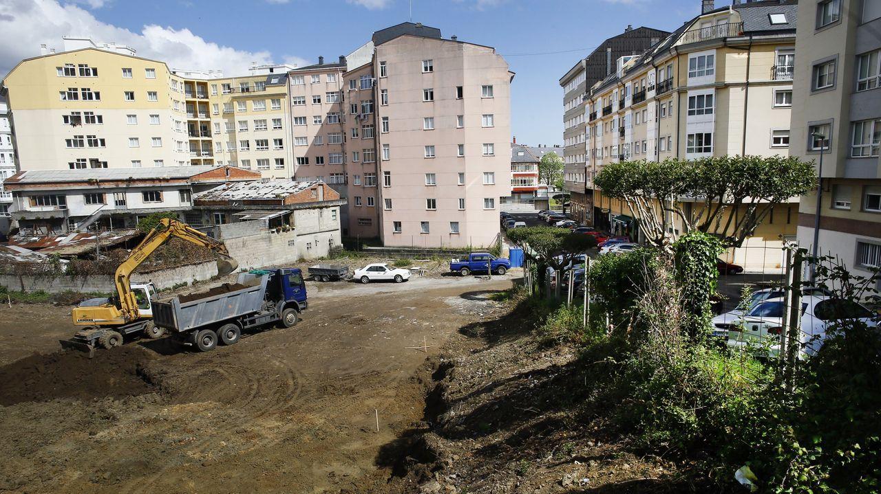 El aparcamiento estará en la calle Otero Pedrayo, donde se había proyectado un edificio de 70 pisos