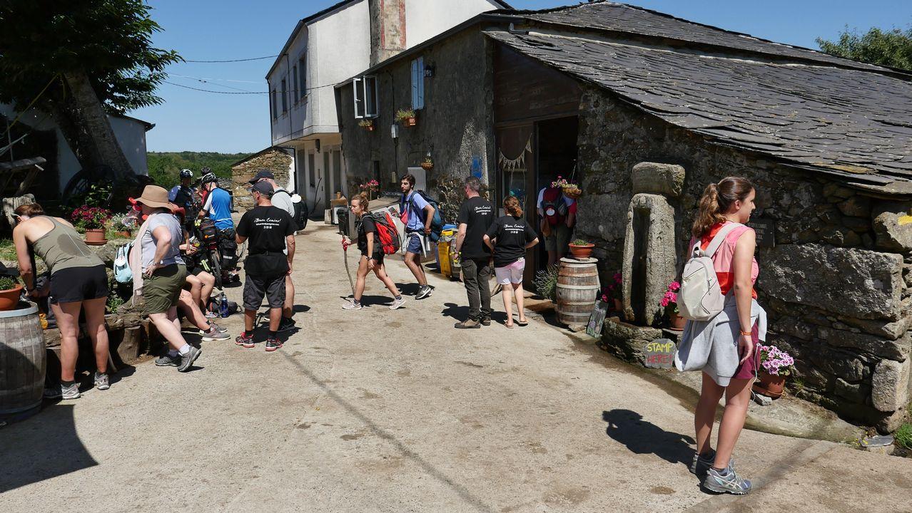 Albergue de voluntarios en Ligonde, Monterroso