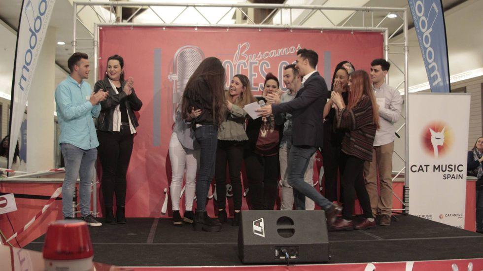 Fase final del casting «Gana con tu voz» en Asturias