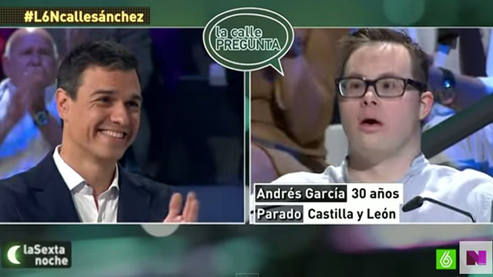 Pedro Sánchez en «La Sexta Noche»