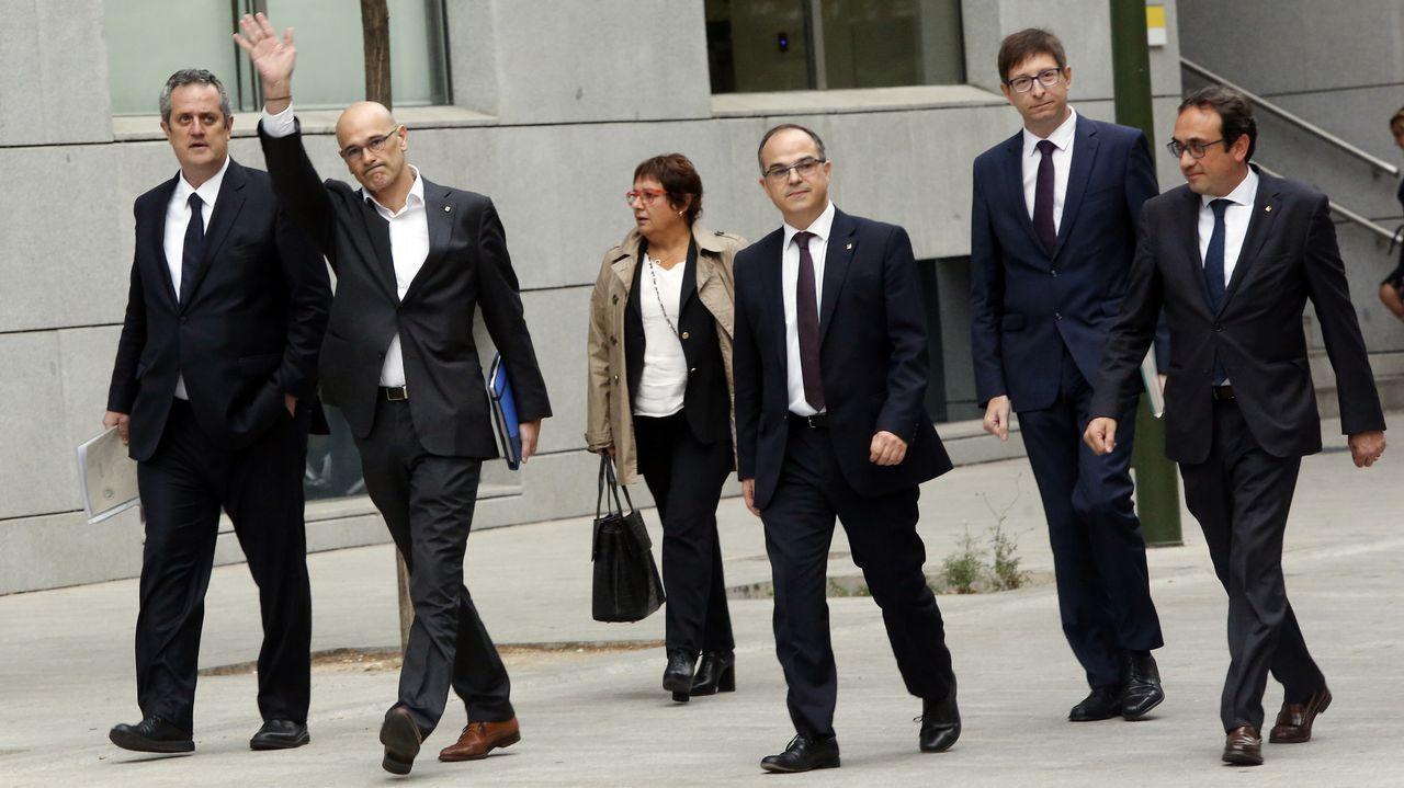 El exgovern, ante la Audiencia Nacional.Imagen de las últimas elecciones autonomicas celebradas en Cataluña