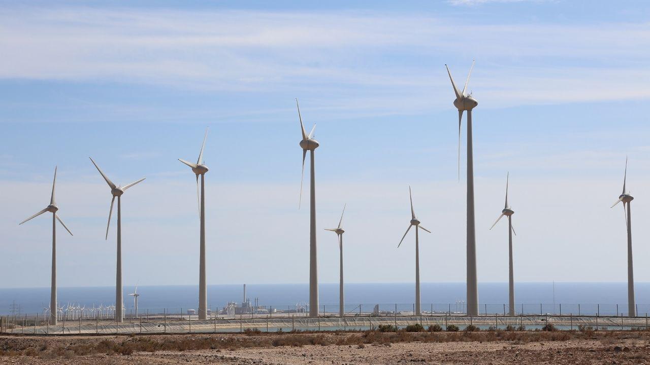 Así esla plantaque BMW acaba de inaugurar en México.Parque eólico Llanos de la Aldea, en Canarias, propiedad de Ecoener