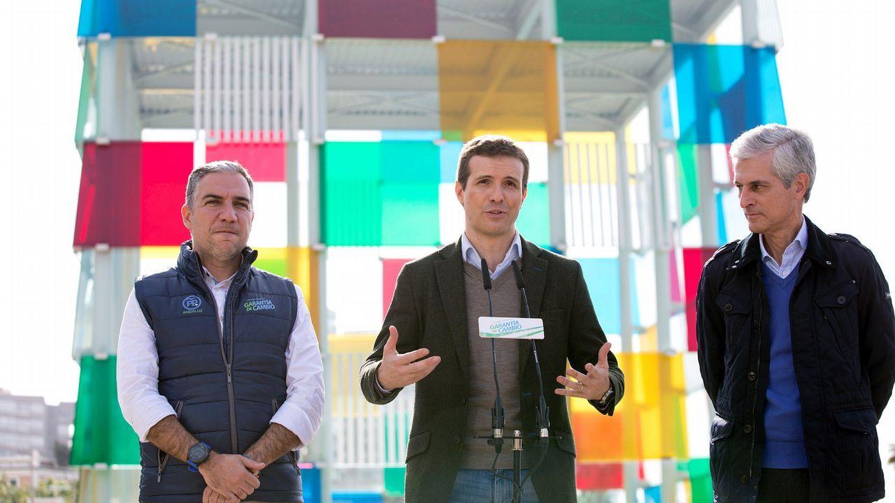 Omar Ramos Real Oviedo Almeria Carlos Tartiere.Casado argumentó delante del Centro Pompidou de Málaga que no puede atacar a Vox porque hacerlo supondría criticar a antiguos votantes del PP