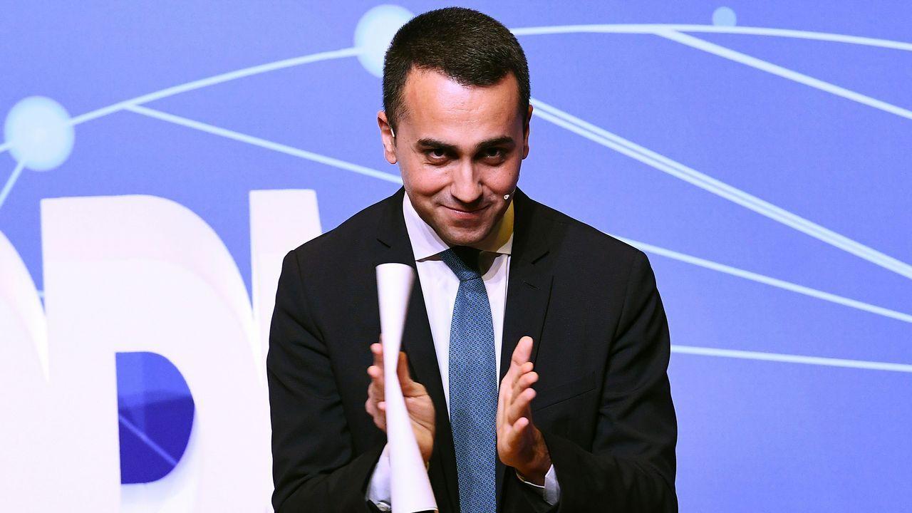 El líder del Movimiento Cinco Estrellas, Luigi di Maio