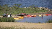 Efectivos de Emerxencias, en el lugar en el que se ahogó el niño de 14 años