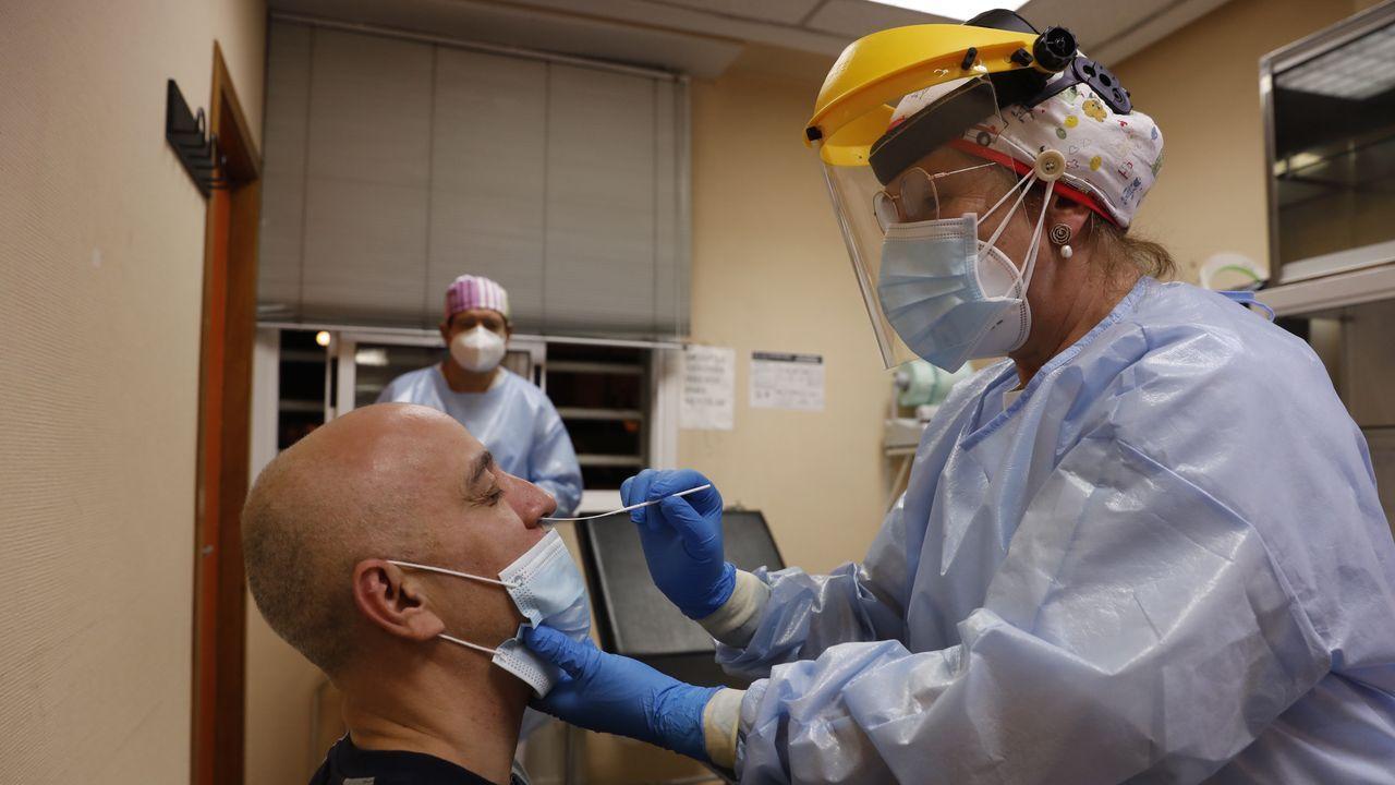 En la ciudad de Ourense hay 125 pacientes con coronavirus
