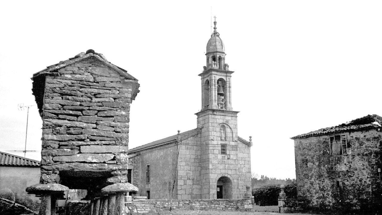 Iglesia de Meanos en Zas