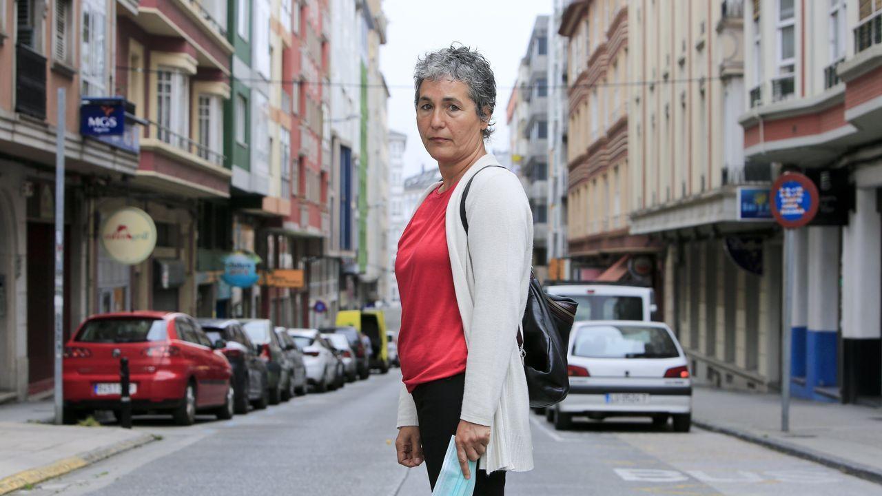 Panadería Muriato en Meira.Sagrario explica que a provincia de Lugo é a terceira de España en inmobles deshabitados