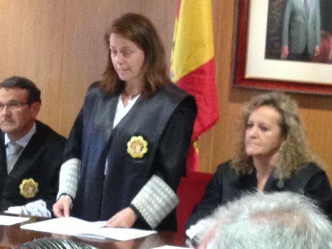 Susana García-Baquero en su toma de posesión