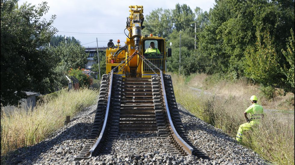 ¿Cómo se retira la vía del tren?.Accidente en Láncara