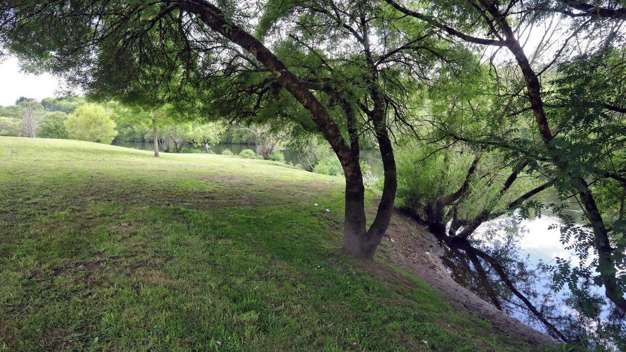La playa fluvial se situará en las inmediaciones del parque infantil del Miño