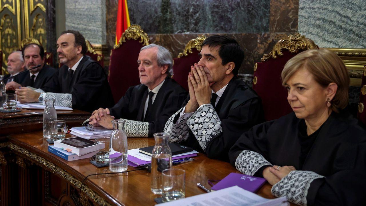 Un comandante de la Guardia Civil pone de relieve la relevancia del papel de Trapero en el procés.Torra, durante una intervención en el pleno del Parlamento de Cataluña