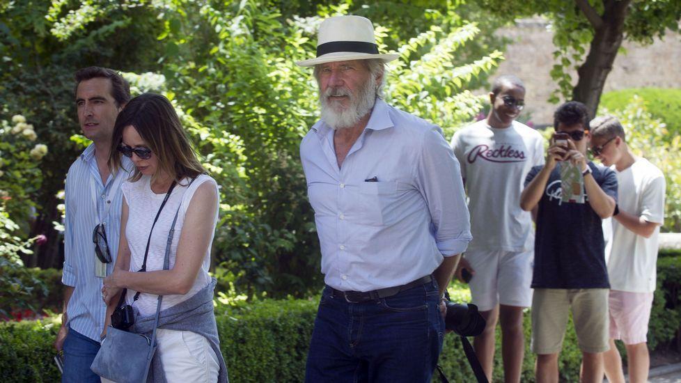 Harrison Ford pasea su amor por la Alhambra