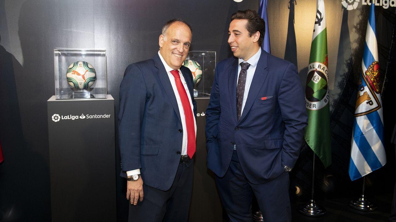 Javier Tebas, candidato a la presidencia de la LFP