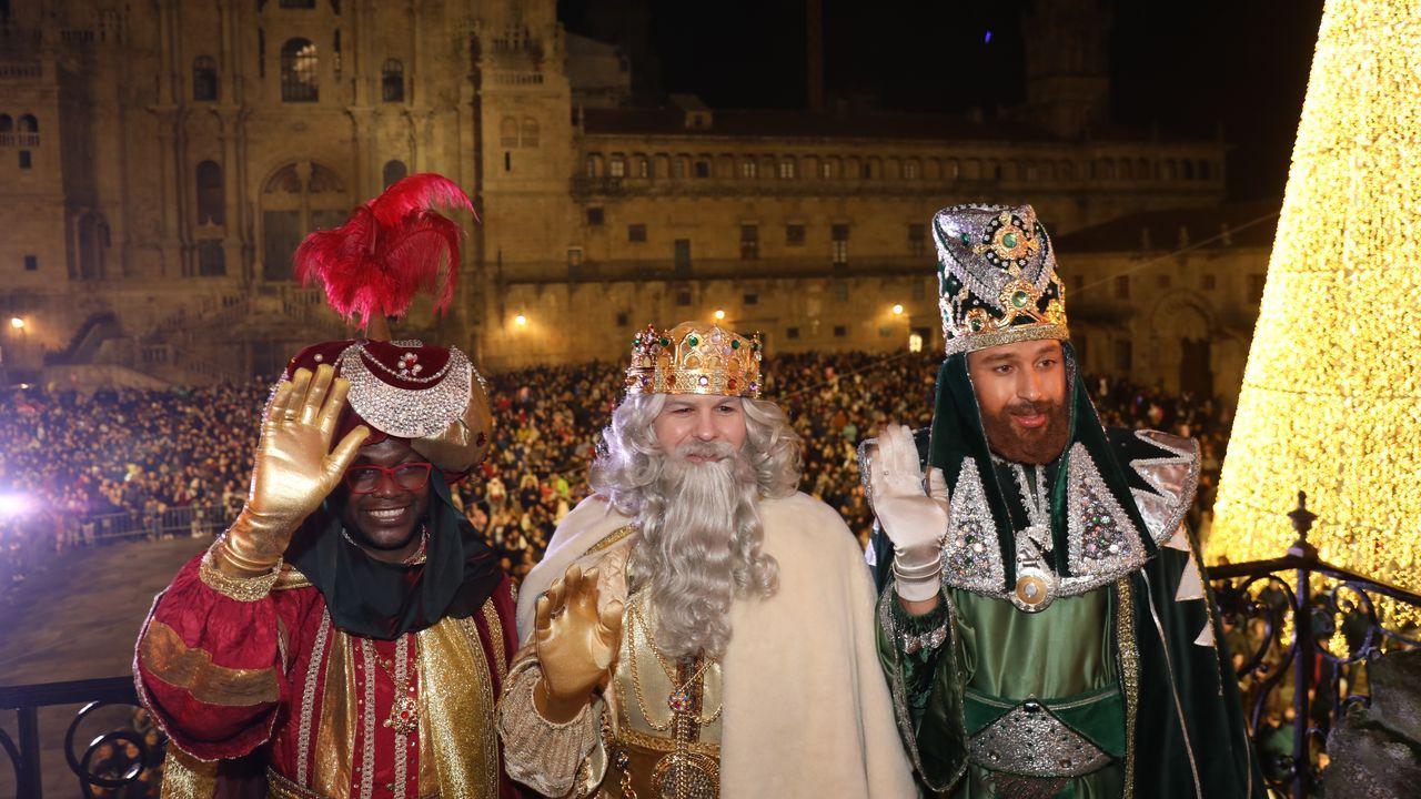 ¡Búscate en la cabalgata de Reyes de Santiago!