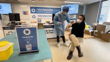 Campaña de vacunación de profesores en Ourense