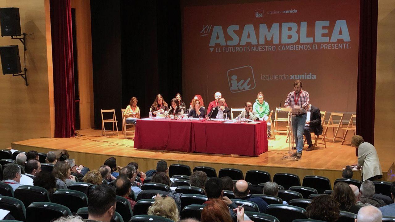 EN DIRECTO: mensaje del rey Felipe VI.La asamblea de IU de Asturias celebrada en Gijón