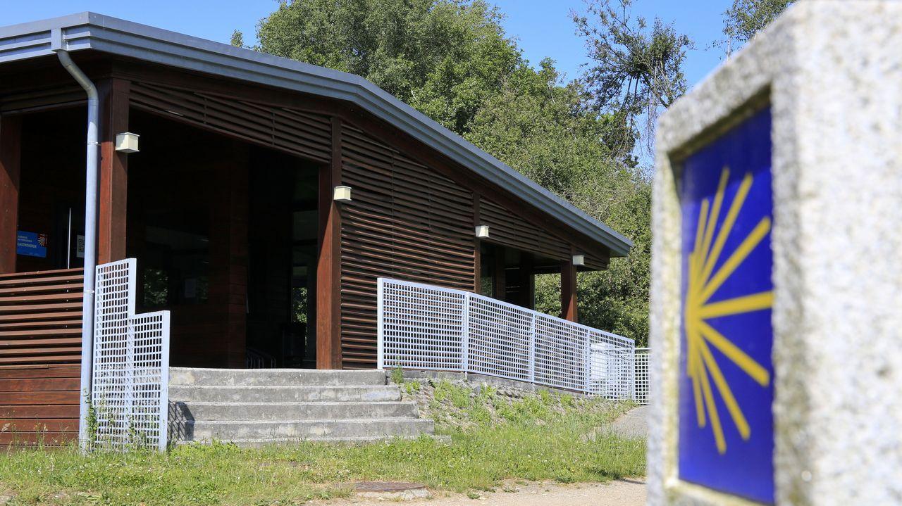 El albergue público de Castroverde es uno de los que abre en el Camino Primitivo