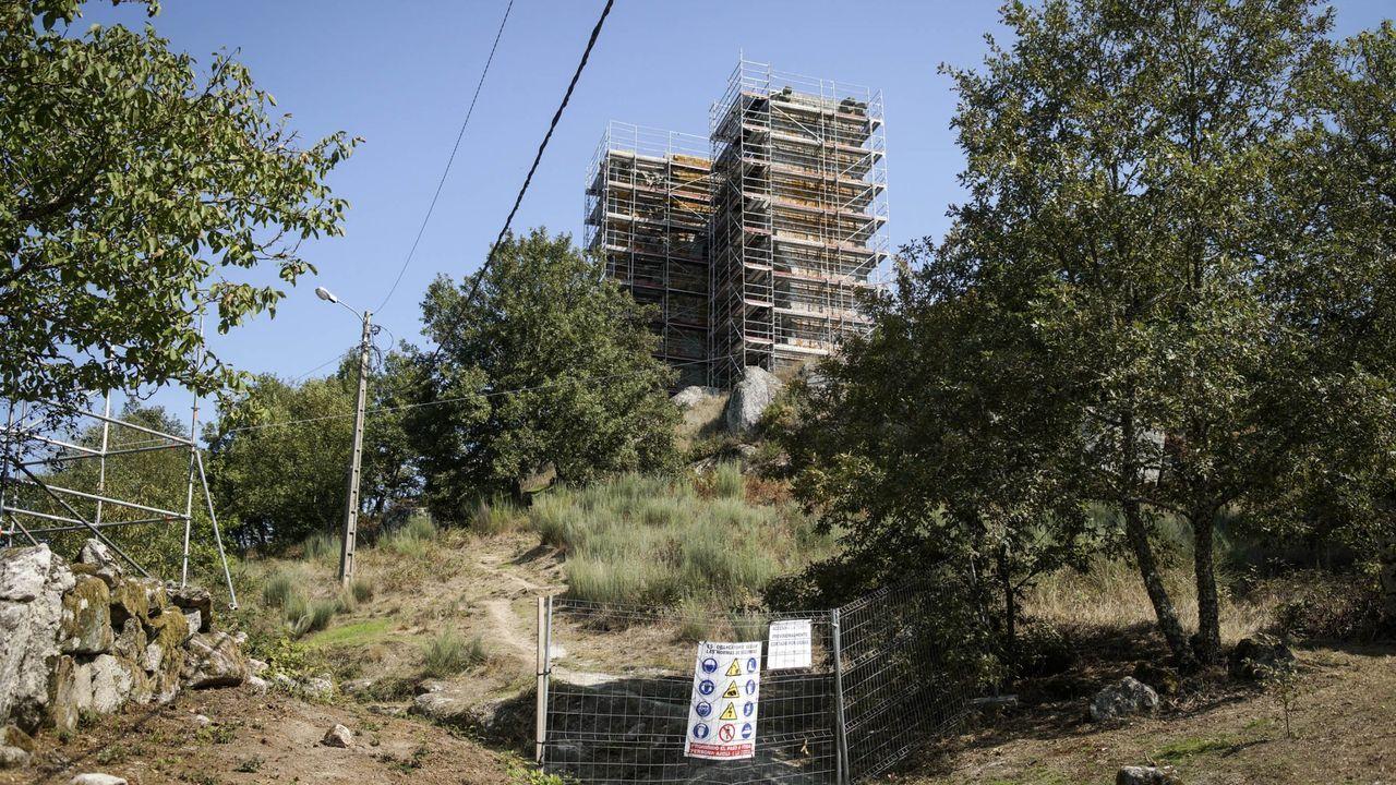 La Torre de Sandiás fue objeto de reformas